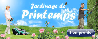 Jardinage de printemps