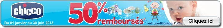 ODR - Offre de Remboursement CHICCO