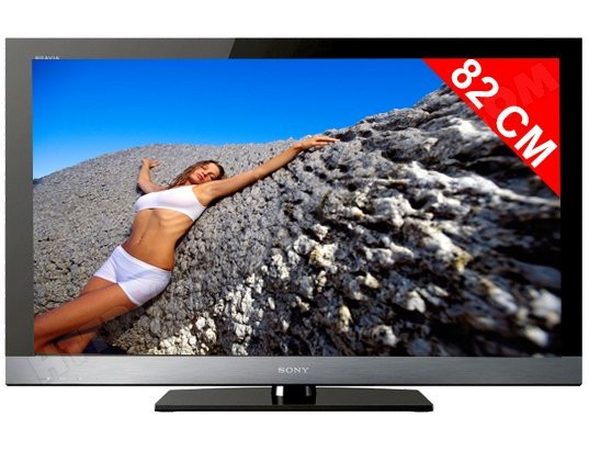 Téléviseur LCD 82 cm Full HD SONY KDL32EX500