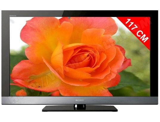 Téléviseur LCD 117 cm Full HD SONY KDL46EX500