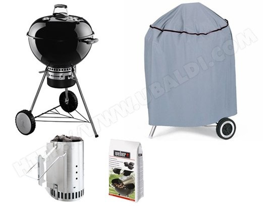 Barbecue charbon WEBER ONE TOUCH PREMIUM