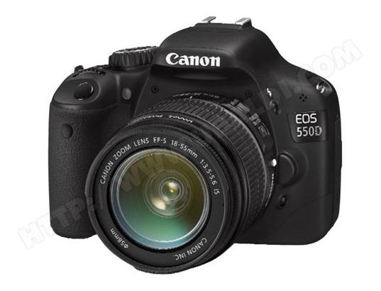 Appareil photo numérique réflex CANON EOS 550D + EFS18/55