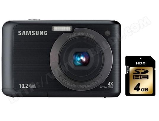Pack Appareil photo numérique + carte mémoire