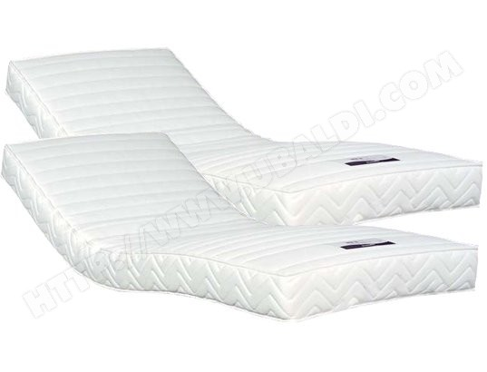 Matelas 2 x 80 x 200 DUNLOPILLO SUPER CONTACT 2X80