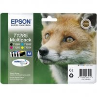 Pack cartouches dencre EPSON T1285 BCMY Renard 4 couleurs