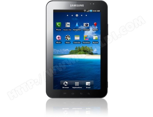 samsung galaxy tab p1000 16 go wifi 3g tablette tactile pas cher. Black Bedroom Furniture Sets. Home Design Ideas