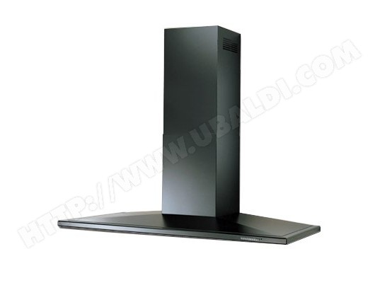 roblin lotus 120 murale noire 6018113 pas cher hotte. Black Bedroom Furniture Sets. Home Design Ideas