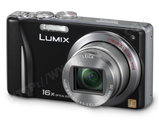 Appareil photo numérique compact PANASONIC DMC-TZ18 noir
