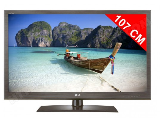 Téléviseur LED 107 cm Full HD LG 42LV3550
