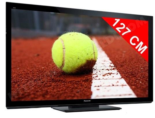 Téléviseur plasma 127 cm Full HD 3D PANASONIC TX-P50VT30E