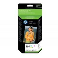 Kit impression HP HP364 pack 85 papiers photo