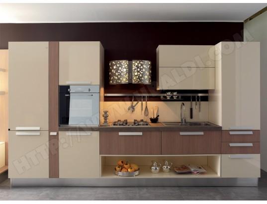 Cuisine contemporaine espace cuisines modele erika pas for Modele cuisine contemporaine