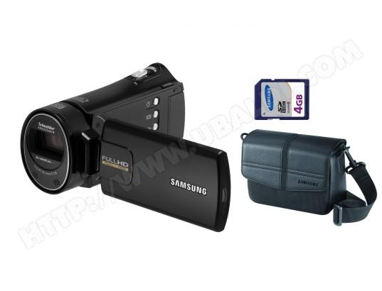 Caméscope carte mémoire SAMSUNG HMX-H320 noir