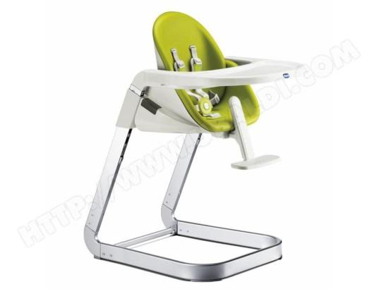 Chaise haute évolutive CHICCO I-SIT vert