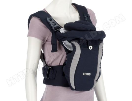 Porte bébé ventral TOMY Freestyle Premier noir et gris