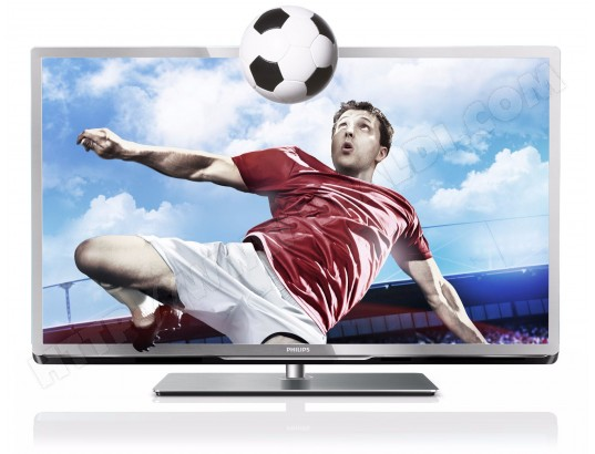 Téléviseur LED 102 cm Full HD 3D PHILIPS 40PFL5507H