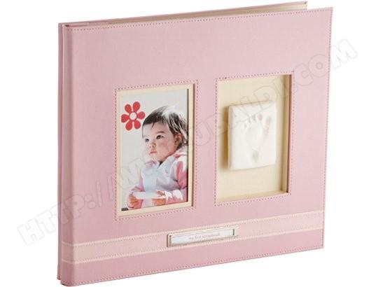 album photo b b pearhead album scrapbook rose 37020 pas cher. Black Bedroom Furniture Sets. Home Design Ideas