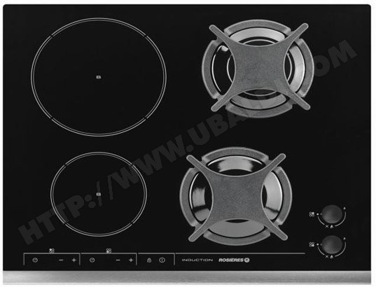 achat plaque cuisson mixte pas cher tables de cuisson mixtes. Black Bedroom Furniture Sets. Home Design Ideas