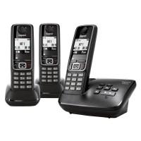 Téléphone sans fil SIEMENS GIGASET A420A Trio noir