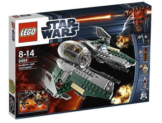 Jeu de construction LEGO Star Wars 9494 - Anakin Jedi Interceptor