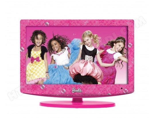 Une TV LCD Barbie