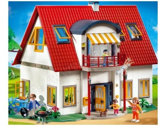 Achat maison playmobil catalogue playmobil ville pas cher for Playmobil maison moderne prix