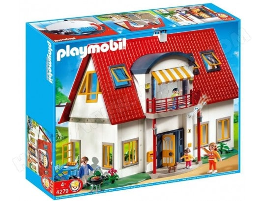 maison playmobil pas cher vente jouet playmobil en ligne. Black Bedroom Furniture Sets. Home Design Ideas