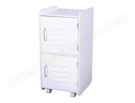 Meuble de rangement enfant kidkraft casier blanc 14321 for Armoire metallique chambre