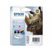 Pack cartouches dencre EPSON T1006 BCMY Multipack