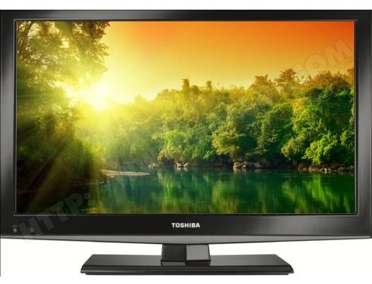 Une TV LED de marque Toshiba
