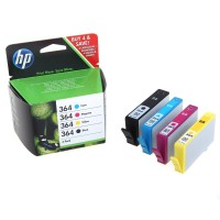 Pack cartouches dencre HP Combo Pack 364 SD534EE