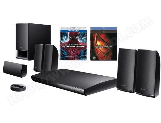 Ensemble home cinéma Blu-ray SONY BDV-E290 + Coffret 4 Blu-ray Spiderman
