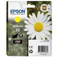 Cartouche dencre EPSON T1804 jaune