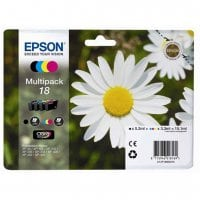 Pack cartouches dencre EPSON T1806 pack 4 couleurs