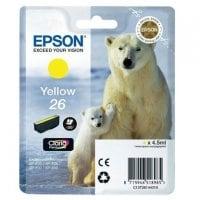 Cartouche dencre EPSON T2614 jaune