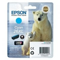 Cartouche dencre EPSON T2632 cyan XL