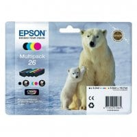 Pack cartouches dencre EPSON T2616 pack 4 couleurs