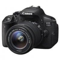 Appareil photo numérique reflex CANON EOS 700D EF S 18 55 IS STM