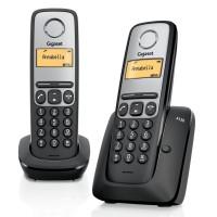 Téléphone sans fil SIEMENS GIGASET A130 Duo Noir