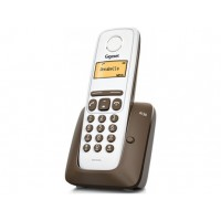 Téléphone sans fil SIEMENS GIGASET A130 Chocolat