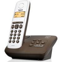 Téléphone sans fil SIEMENS GIGASET AL130A Chocolat