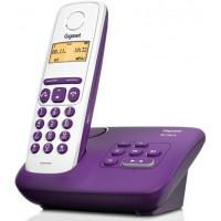 Téléphone sans fil SIEMENS GIGASET AL130A Prune