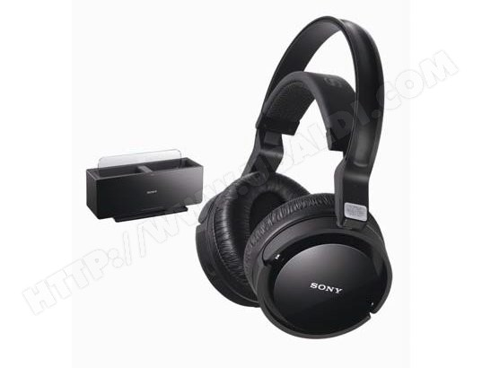 sony mdr rf4000k casque sans fil livraison gratuite. Black Bedroom Furniture Sets. Home Design Ideas