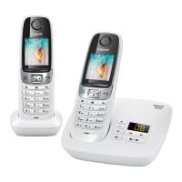 Téléphone sans fil SIEMENS GIGASET C620A Duo blanc