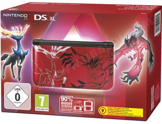 Console 3DS XL NINTENDO Pokémon Xerneas - Yveltal Rouge - Edition Limitée