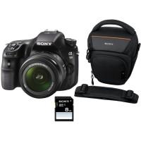 Appareil photo numérique reflex SONY SLT A58 18 55 mm LCS AMB SD 8 Go