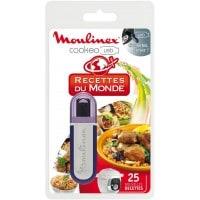 Accessoire mijoteur MOULINEX XA600100 Clé USB 25 recettes du Monde
