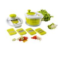 Coupe légumes KITCHENARTIST MEN218 Mandoline et essoreuse à salade