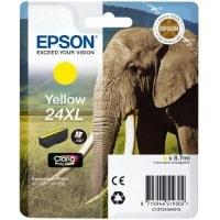 Cartouche dencre EPSON T2434 XL Elephant jaune
