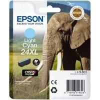 Cartouche dencre EPSON T2435 XL Elephant cyan clair